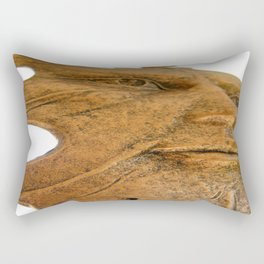 Face in the Wind  Rectangular Pillow