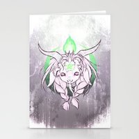 baphomet Stationery Cards featuring Baphomet V3 by Savannah Horrocks