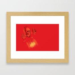 He's Dead Jim Framed Art Print