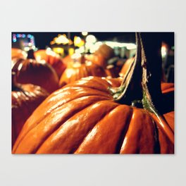 Shiny Pumpkins Canvas Print