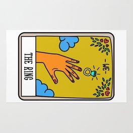 THE RING #Tarot Card Rug