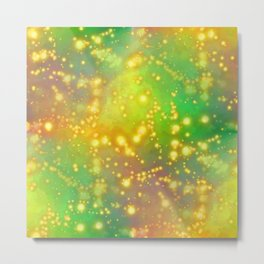 Out Of This World Abstract Metal Print