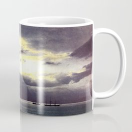 Vintage Sunset Waters : St Lawrence River 1901 Coffee Mug