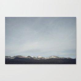 Yosemite Sky Canvas Print