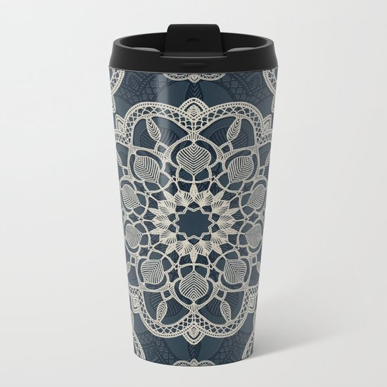 Mandala 17/2 Metal Travel Mug