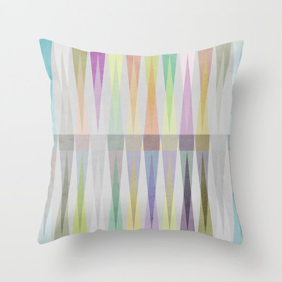 Nordic Combination V Throw Pillow