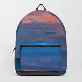 Pastel Sunrise in the Clouds Backpack