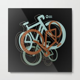 mix of bikes_01 Metal Print