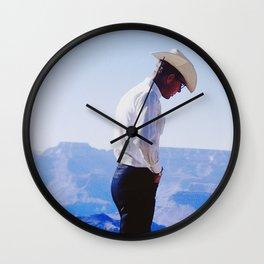 Cowboy Guide Wall Clock