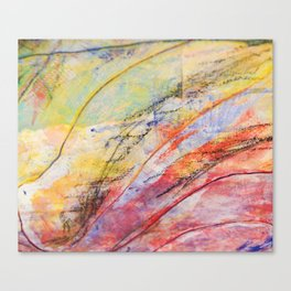 Thread Memory Canvas Print