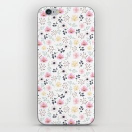 Elegant Floral iPhone Skin