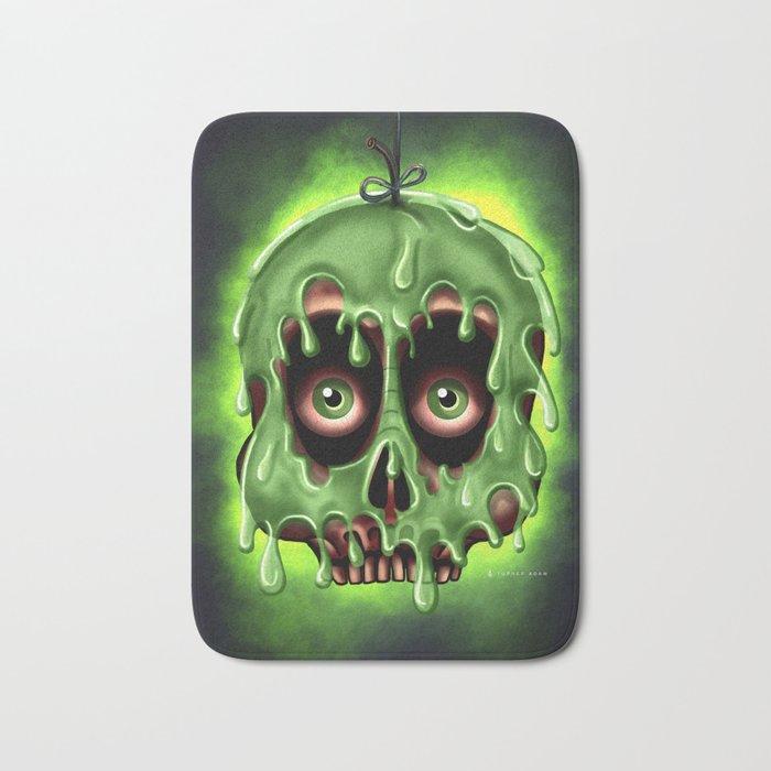 Poison Skull by Topher Adam 2017 Bath Mat