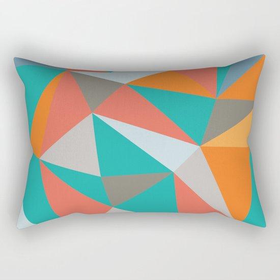 Summer Deconstructed Rectangular Pillow