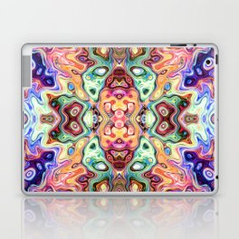 Colorful Mirror Image Abstract Laptop & iPad Skin
