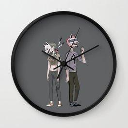 f o u r Wall Clock