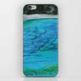 The Lake in the Sky iPhone Skin