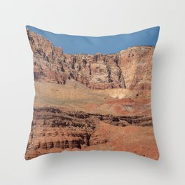 Colorful Mesas 2 - Desert Southwest Throw Pillow