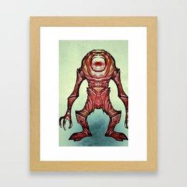 Alien_off Framed Art Print