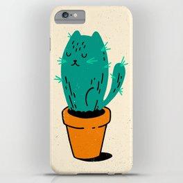 Cat-tus iPhone Case