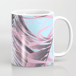 Delicate Pink Palms Coffee Mug