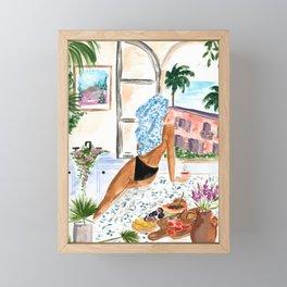 A Peaceful Morning Framed Mini Art Print