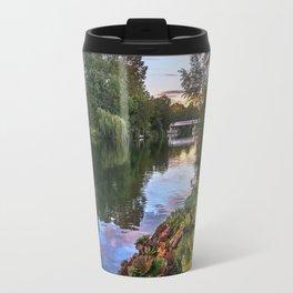 The Thames At Pangbourne Travel Mug