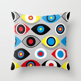 Eye on the Target Throw Pillow