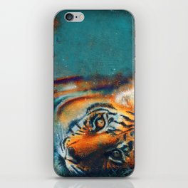 El descanso del tigre iPhone Skin