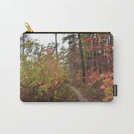 A Walk in the Fall Carry-All Pouch