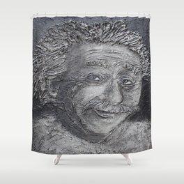Wilder Einstein Shower Curtain