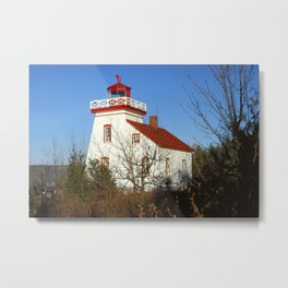 Janet Head Lighthouse Metal Print