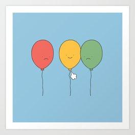 Let it go! Art Print