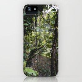 Hidden Jungle River iPhone Case