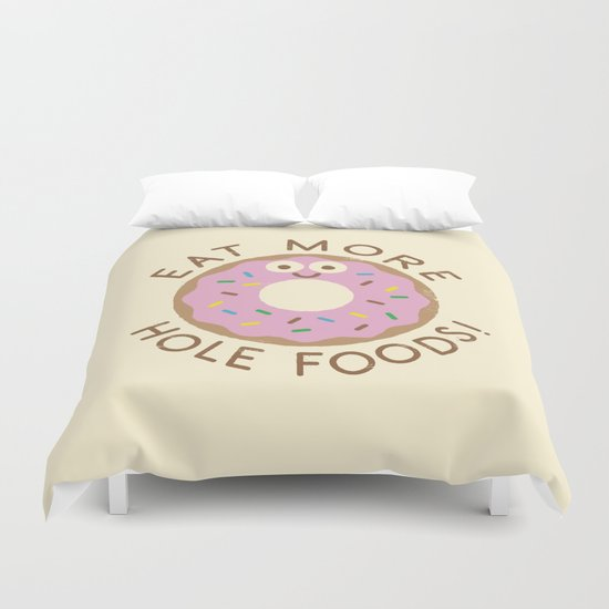 Do's and Donuts Duvet Cover