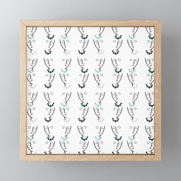 Simply She Coordinate Framed Mini Art Print