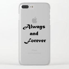 The Originals Clear iPhone Case