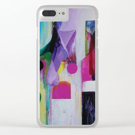 Juxtaposed Clear iPhone Case