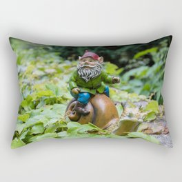 At  Snails Pace Rectangular Pillow