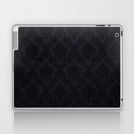 Black damask - Elegant and luxury design Laptop & iPad Skin