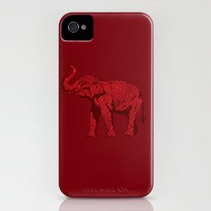 The Red Elephant Slim Case iPhone (4, 4s)