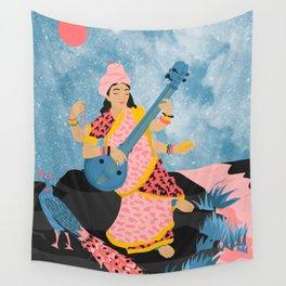 Saraswati Wall Tapestry