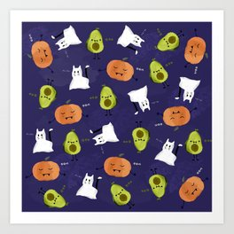 Cute Halloween Art Print