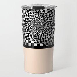 Chess pattern Travel Mug
