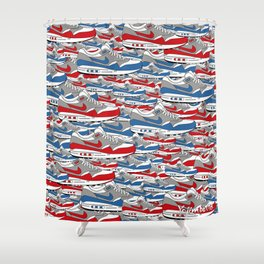 Air Max All Over Shower Curtain