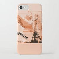 led zeppelin iPhone & iPod Cases featuring Zeppelin by Avigur