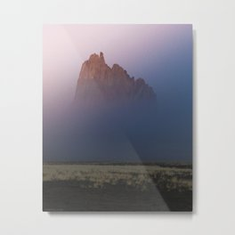 Hidden in the mist Metal Print