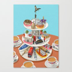 a very British past time Canvas Print