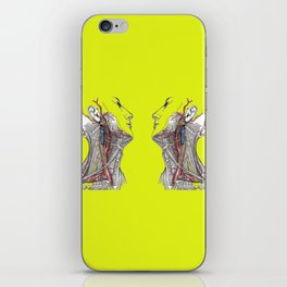 Dual anatomy iPhone Skin