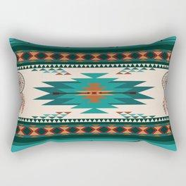 American Native Pattern No. 156 Rectangular Pillow