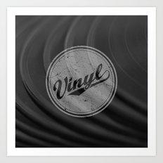 Vinyl II Art Print